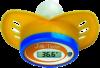 Little Doctor LD-303 Цифровой электронный термометр Little Doctor LD-303 изготовлен из безопасного для здоровья силикона. Оснащен функцией памяти на последнее измерение, а также звуковым оповещением окончания измерения. Термометр предназначен для детей и выполнен в виде соски.