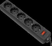 Сетевой фильтр Defender ES 3, black