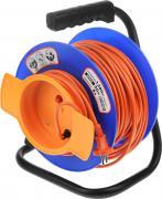 """Удлинитель """"UNIVersal"""", на катушке, без заземления, цвет: оранжевый,..."""