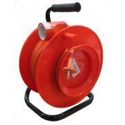 Удлинитель силовой - У-К 50 метров, провод ПВС 2х1,0 мм2, 1 литая...