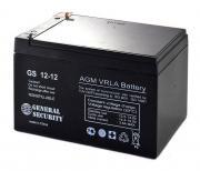 Аккумуляторная батарея GENERAL SECURITY GS 12-12 - AGM, 7.2Ач, 12B