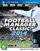 Игра Football Manager Classic 2014 (PS Vita, русская версия)