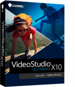 Corel ESD VideoStudio Ultimate X10 ML (ESDVSPRX10ULML)