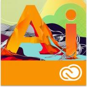 Подписка (электронно) Adobe Illustrator CC Multiple Platforms...