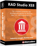 RAD Studio XE8 Ultimate [BDUX08MLENWB0]