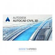 Autodesk AutoCAD Civil 3D 2017 Commercial New Single-user ELD Annual...