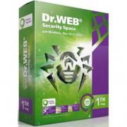 Dr.Web Антивирус Dr. Web Security Space Pro для Windows, картонная...