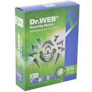 Антивирус Dr.WEB Security Space Pro 3 ПК на 1 год (0+)...