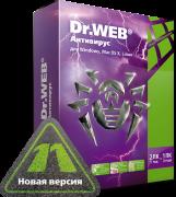 Антивирус Dr.Web - на 1 ПК, на 3 мес. (LHW-AK-3M-1-A3)
