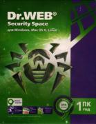 Программное обеспечение DRSFBHWB12M1A3 Dr. Web® Security Space,...