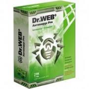 Безопасность и защита информации Dr.Web Pro на 12 мес. для 2 ПК (Box)