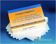 Губка стиратель для магнитных досок Magnetoplan Сменные сухие салфетки...
