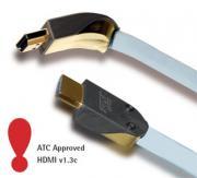 HDMI кабель Supra HDMI MET-S/B 1m