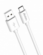 Кабель Partner USB 2.0 - USB Type C 1m белый