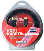 Кабель HDMI - Mini HDMI, 2m, Titan TTW-HD1620
