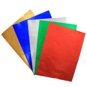 """Цветная фольгированная бумага """"Fancy"""", 5 цветов"""