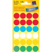 Круглые цветные наклейки Разноцветный (Avery Zweckform)