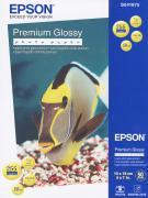 Epson Premium Glossy Photo 255/13x18/50л, глянцевая C13S041875
