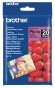 Фотобумага Brother BP61GLP 190g/m2 10x15 6x4 Glossy 20 листов