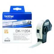 Наклейки Brother DK11204 универсальные (17mm x 54mm) для QL-570...