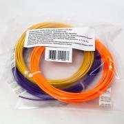 Комплект ABS-пластика ESUN 1.75 мм. для 3D ручек (оранжевый, золотой,...