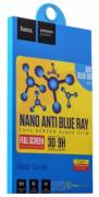 Защитное стекло Hoco Full nano anti blue ray для iphone 6/6S Black