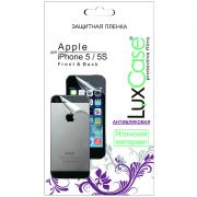 Luxcase защитная пленка для Apple iPhone 5s (Front&Back), антибликовая...