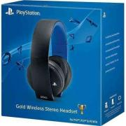 Стереогарнитура Sony Gold Wireless Stereo Headset 2.0 (Black) (PS4)