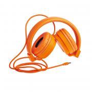 Наушники полноразмерные Partner Orange 3,5мм