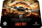 SteelSeries QcK LE World of Tanks (с рисунком)