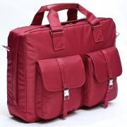 """16"""" Сумка для ноутбука Bagspace с двумя карманами BS-436-16RD красная"""