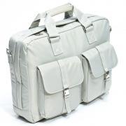 """16"""" Сумка для ноутбука Bagspace с двумя карманами BS-436-16GY серая"""