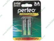 """Аккумулятор Perfeo """"PF AA2100/2BL"""" 1.2B 2100мАч Ni-MH AA (2шт./уп.)..."""