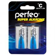 Батарейка Perfeo LR14/2BL Super Alkaline (2 штуки)