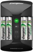 Energizer Pro Charger + 4AA 2000mAh (черный)