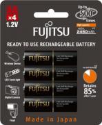 Аккумуляторы Fujitsu АА Ni-MH 2450 мАч, 4 шт. (HR-3UTHCEX)