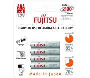 Аккумуляторы Fujitsu ААА 750 мАч, 4 шт. (HR-4UTCEX/4B)