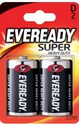 "Батарейка солевая Eveready ""Super Heavy Duty"", тип D-R20, 1,5V, 2 шт"