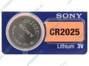 Батарейка Sony 3.0B CR2025 (1шт./уп.) (ret)