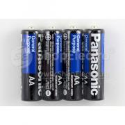 Батарейка Panasonic General Purpose, 1.5 В, R6 SR4
