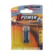 Батарейка ANSMANN X - POWER, 1.5 В, АААА BL2