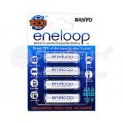 Аккумулятор SANYO Eneloop, AAA, 1.2 В, 750 мАч NiMH BL4 [HR-4UTGB-4BP]