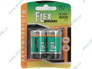"Flextron Аккумулятор Flexpower ""NMH-HR14-4000-B2"" 1.2B 4000мАч Ni-MH C..."