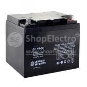 Свинцово-кислотный аккумулятор General Security GS 12-40 (12 В, 40...