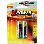 Батареи Ansmann Mignon AA X-Power, 2 шт.