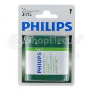 Батарейка PHILIPS LONG LIFE 3R12, 4.5 В BL1