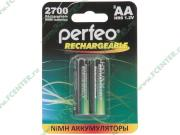 """Аккумулятор Perfeo """"PF AA2700/2BL"""" 1.2B 2700мАч Ni-MH AA (2шт./уп.)..."""