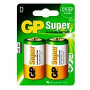 "Батарейки GP Batteries ""Super Alkaline"" (2 шт) (серия D)"