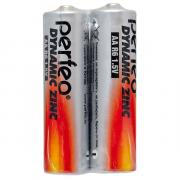 Батарейка AA - Perfeo R6/2SH Dynamic Zinc (2 штуки)