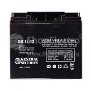 Свинцово-кислотный аккумулятор General Security GS 12-18 (12 В, 18...